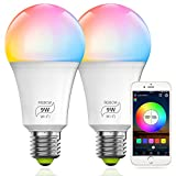 MagicLight Smart WiFi 9W (80w Equivalent) Light Bulb (No Hub...