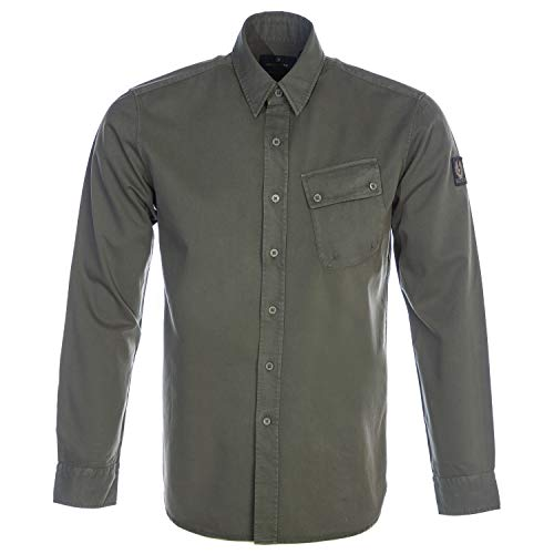 Photo of Belstaff Pitch Shirt in Sage Green