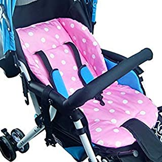 Replacement Parts/Accessories to fit Summer Infant Strollers and Car Seats Products for Babies, Toddlers, and Children (Pink Polka Dot Cushion)