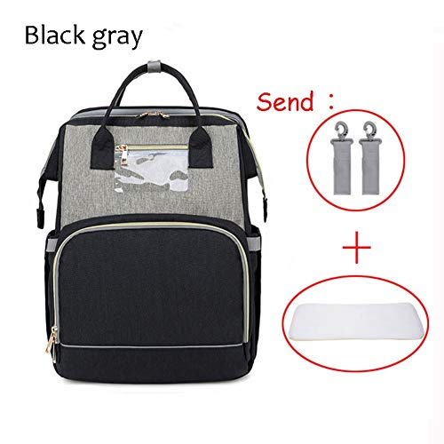 Portable Sleeping Mummy Bag Portable Crib, Foldable Crib Bag, Newborn Travel Bed Backpack, Multi-Functional Baby Bassinet Diaper Backpack Organizer with...