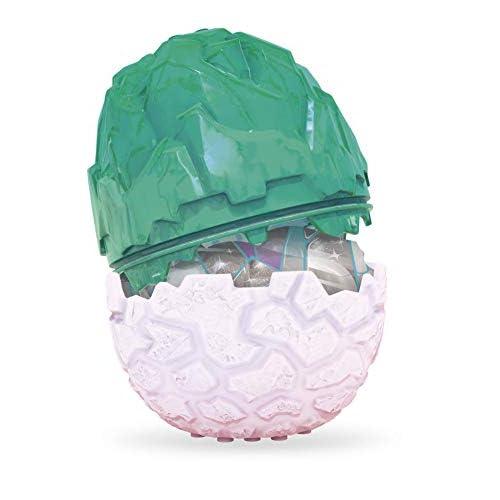 Crystal Creatures- Uovo con Creatura Incantata e Slime a Sorpresa, Colore Azzurro, GLK07