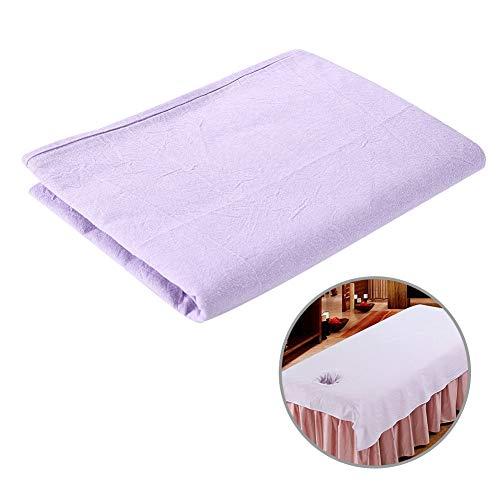 Sábana de 8 colores – Salón de belleza Masaje SPA Funda de sofá Funda de cama de algodón suave con…
