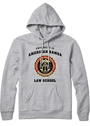 HYPSHRT Herren Hoodie Call Saul University of American Samoa Law School C210030 Grau L