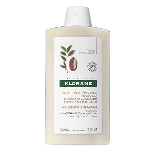 Klorane Shampoo with Organic Cupuaçu Butter,...