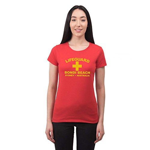 Camiseta de Playa para Mujer Lifeguard Bondi Beach Sydney Australia Estilo surfero