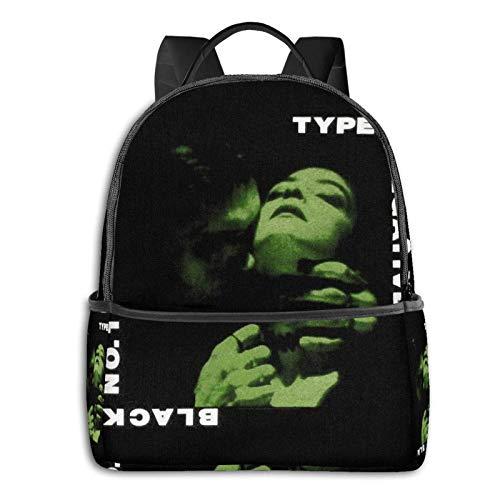 IUBBKI Zaino laterale nero Casual Daypacks Type O Negative Black Backpack