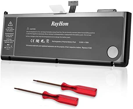 RayHom A1382 A1286 Battery Compatible for Early 2011 Late 2011 Mid 2012 MacBook Pro 15 inch product image