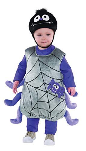 Costume Ragno Neonato Halloween 1 A 2 Anni