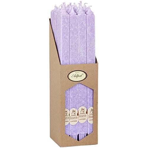Bougie décoration Bougie 302 x 21 x 21 Lot de bougies de la tige 16 de lavande