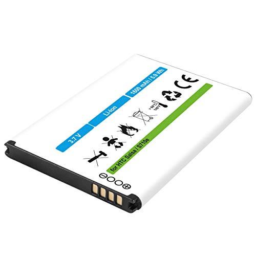 Akku kompatibel mit HTC BG32100, BA S580, S530, S520, S450 Li-Ion 1600mAh - für Salsa, Mozart, Desire Z, S, Incredible S, S710e