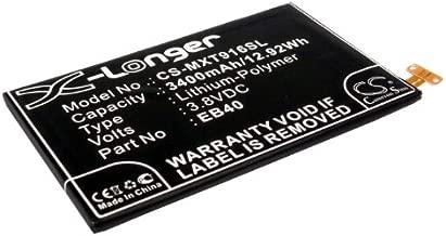 Cameron Sino 3400mAh Battery for Motorola Droid Razr Maxx, XT912M, XT916