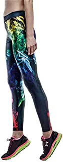 MAYUAN520 High Waist Legins Nota Musicale Digitale Foglio Stampato Leggins Donne Gambali Fitness Pantaloni Donna