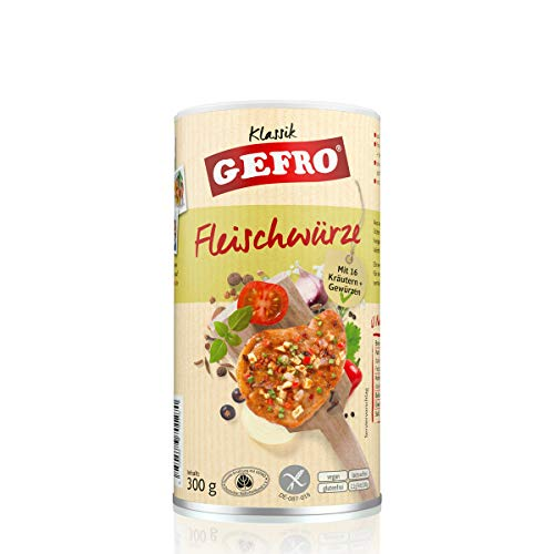 GEFRO Klassik Fleischwürze auch zum Verfeiern von Soßen und Dips, lecker zu Geflügel und Steaks (300g)