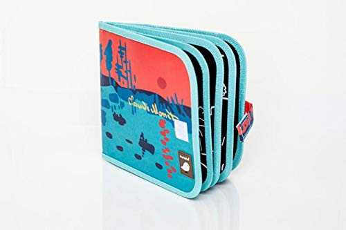 Jaq Jaq Bird Color It & Go erasable Book (Monet)