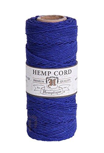 Hemptique HS20C0 - RB - Cordel para jardinería, color azul