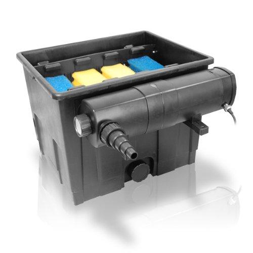 SET Berlan Teichfilter 12.000 Liter + Wasserklärer 18 Watt