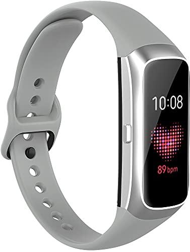 Classicase Correa de Reloj Compatible con Galaxy Fit SM-R370, Silicona Banda de Reemplazo Pulsera (Pattern 3)