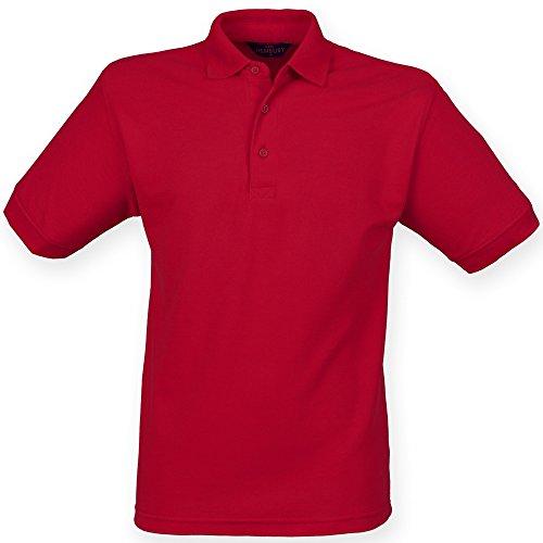 Henbury - Polo à Manches Courtes - Homme (3XL) (Rouge Vintage)