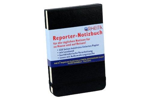 Reporter taccuino con nastro segnalibro/320pagine/dimensioni: 9x 14cm