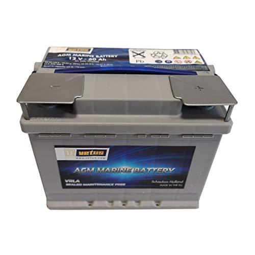 Vetus AGM-Batterie 12V/60Ah