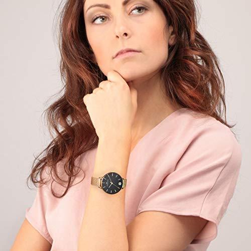 Morellato Orologio da donna, Collezione Ninfa, in acciaio, PVD oro giallo - R0153141543