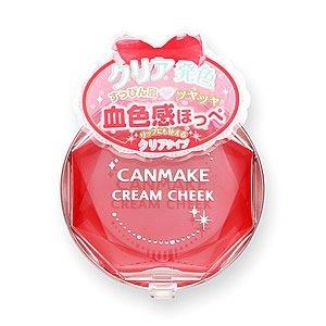 キャンメイククリームチークCL01クリアレッドハート2.3g