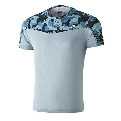 42K Running - Camiseta técnica 42k Ares Hombre Ice S