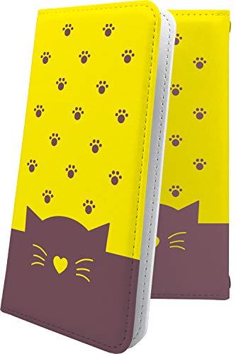 スマートフォンケース・P9 lite / P9 / P8 lite・互換 ケース マルチタイプ マルチ対応スマートフォンケース・手帳型 猫耳 ねこみみ ねこ 猫 猫柄 にゃー ファーウェイ ライト 手帳型スマートフォンケース・キャラクター キャラ キャラスマートフォンケース・P 9 P9lite P8lite ハート love kiss キス 唇 [5KR10171ZtY]