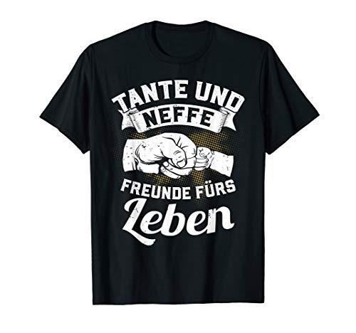 Tante und Neffe Freunde fürs Leben Beste Familie Geschenk T-Shirt