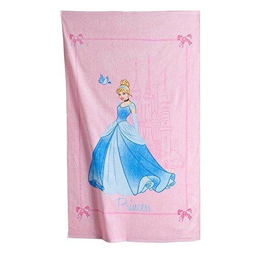 DISNEY-Toalla de baño 70 x 120 cm, diseño de La Cenicienta • • princesa SAPHIR-Toalla de playa terciopelo Toalla • Beach towel