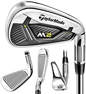 Build a Custom TaylorMade 2017 M2 Iron, 4, 2017 M2 Reax (Graphite), Senior