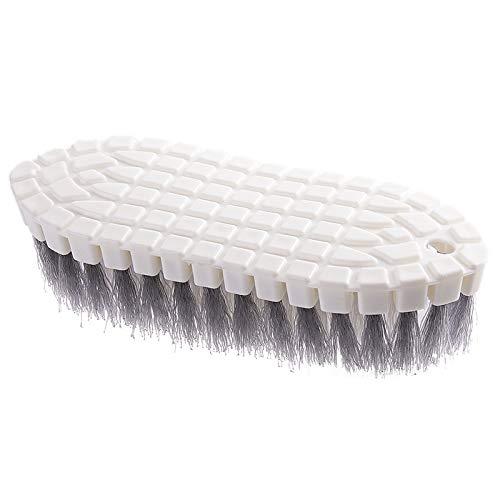 YUY Cepillo de limpieza para estufa, flexible, multiusos, antideslizante, conveniencia, suspensión práctica, quitar manchas, sin callejón muerto, para lavabos de azulejos de bañera, grifos