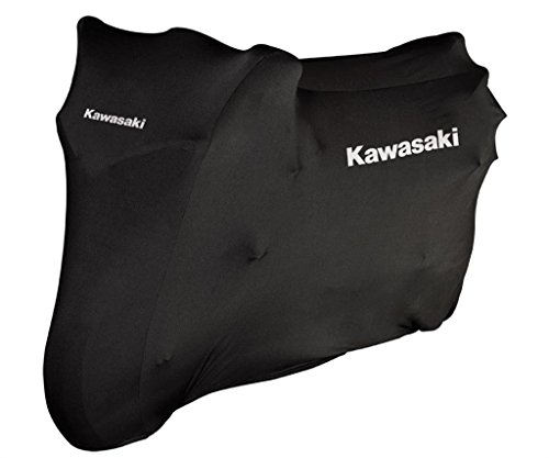 Kawasaki HQ Indoor Stretch Bike Cover Abdeckplane innen Gr.M