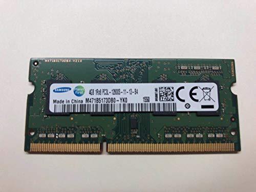 サムスン M471B5173QH0-YK0 サムスン 4GB 1Rx8 PC3L-12800S 1600Mhz SODIMM-204P (MX15GARA-B6ND
