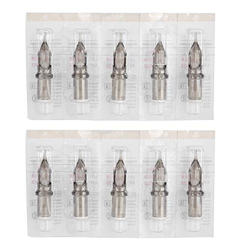 Agujas de tatuaje de 10 piezas 3RL, agujas de cartucho de tinta, agujas de máquina de tatuaje, herramienta de maquillaje semipermanente