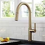 Kraus KPF-2820SFACB Oletto Single Handle Pull-Down Kitchen Faucet, 17...