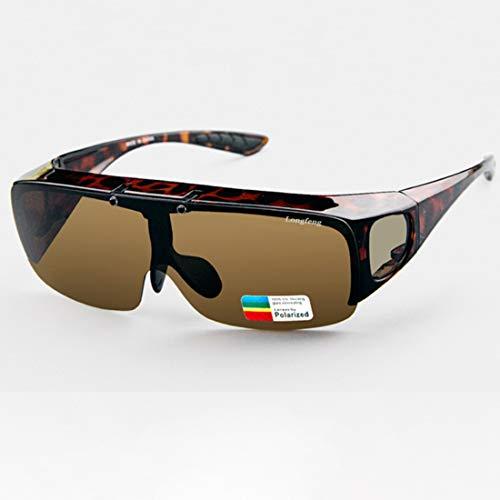 Hombres Y Damas Gafas De Sol Polarizadas Gafas Extractor, Gafas De Sol De Arriba Para Automovilistas Y Gafas, Protección HD GLARE PROTECTORIA POLARIZING GOBALLOS GOGGES DE CONDUCTORES 100% UV400 Prote