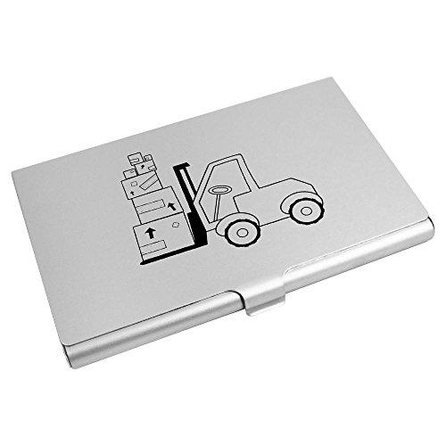 Azeeda 'Chariot Élévateur' Porte Carte de Visite / Carte de crédit (CH00015188)