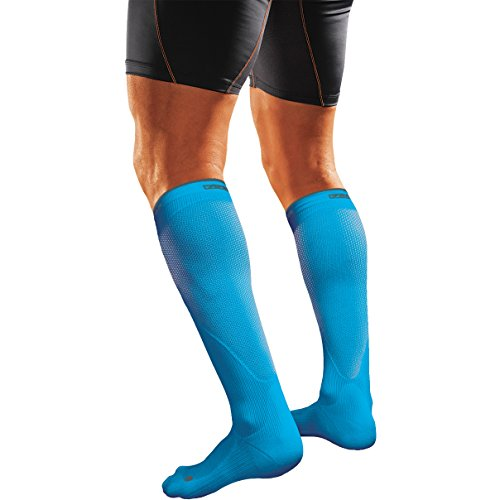 Shock Doctor SVR Recovery Compression Socks - Adult Shock Blue X-Small