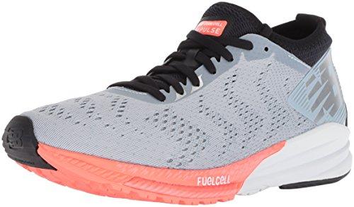 New Balance Fuel Cell Impulse, Zapatillas de Running Mujer, Gris (Light Cyclone/Dragonfly GP), 39 EU