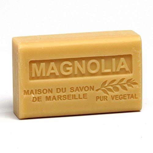 Savon Magnolia au beurre de karité Bio - 125gr