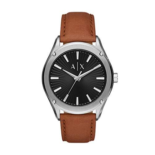 Armani Exchange Reloj Analógico para Hombre de Cuarzo con Correa en Piel Genuina AX2808