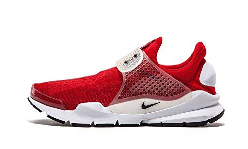 Nike Sock Dart, Zapatillas de Running para Hombre, Rojo/Negro/Blanco (Gym Red/Black-White), 36.5 EU