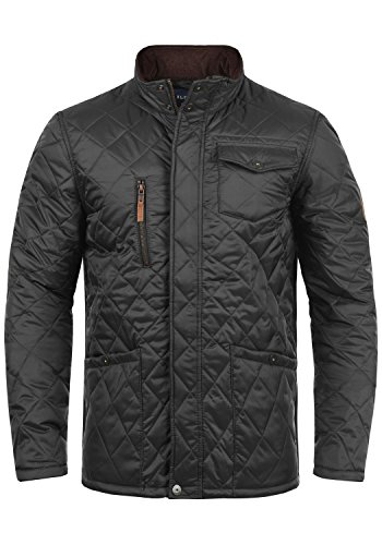 Blend Camilo Herren Steppjacke Übergangsjacke Jacke mit Stehkragen, Größe:M, Farbe:Phantom Grey (70010)