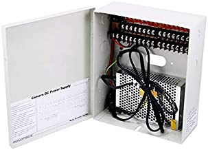 Monoprice 16 Channel CCTV Camera Power Supply - 12VDC - 10Amps