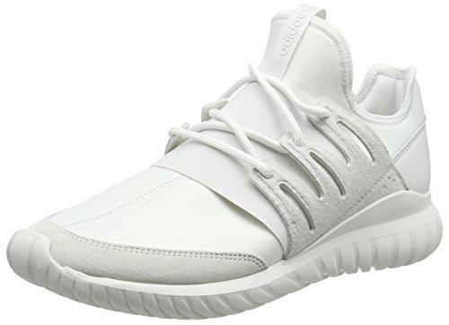 adidas Unisex-Erwachsene Tubular Radial High-Top, Weiß (Crystal White/Crystal White/Crystal White), 47 1/3 EU