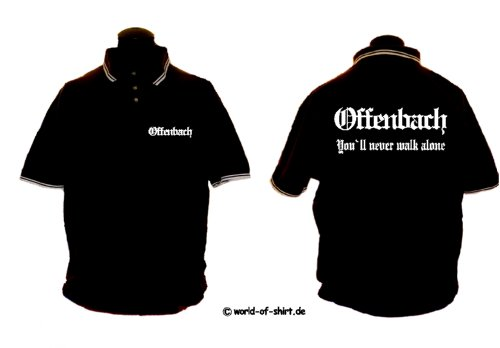 world-of-shirt Herren Polo Shirt Offenbach Ultras