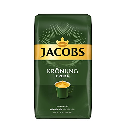 Jacobs Kaffeebohnen Krönung Crema, 1 kg Bohnenkaffee