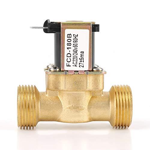 AC 220/240 V, 2-weg magneetventiel, G3 / 4-schroefdraad, opener / dichter, magneetventiel, waterinlaatventiel voor huishoudelijke apparaten, industriële installaties, medische apparaten, enz