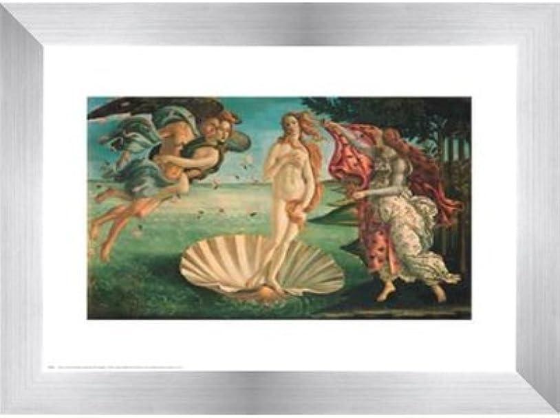 ファッション過言ファブリックBirth of Venus by Sandro Botticelli?–?10?x 8インチ?–?アートプリントポスター LE_28409-F9935-10x8